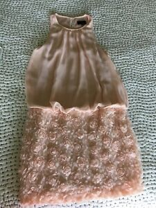 Aqua Womens Size 4 Light Pink Short Cocktail Formal Dress
