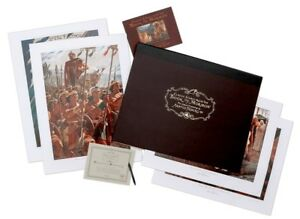 Classic Scenes from the Book of Mormon signed by Arnold Friberg painting set