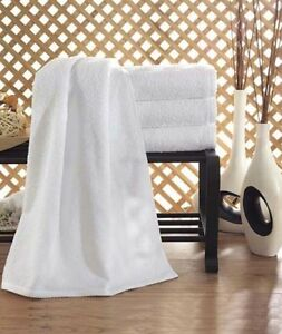 100% Turkish Cotton White Large Luxury Collection BeachPool Towel - 3 Pieces