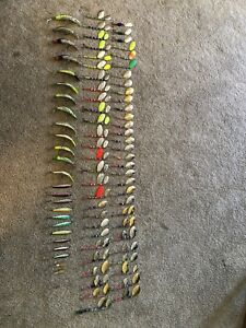 Collection of Salmon Fishing Lures
