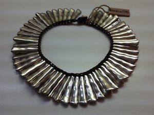 NWT Uno de 50 Silver Plated Choker Lined Necklace 7