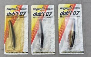 BAGLEY'S DUB'L 07 FISHING LURE COLLECTION!  NEW IN PACKAGE. 3 STYLES.