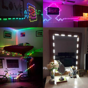 1-100x Colorful 10FT 5050 SMD 3 LED Module STORE FRONT Window Decor Light Strip