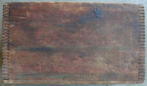 Antique Remington 16 guage Shotgun Express Ammunition Ammo Wood Wooden Crate Box