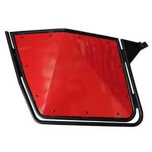 RZR 900 800 570 Polaris Door Red on Black Frame S 800 2008 to 2014  Slam Latch