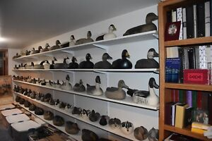 WORLD'S LARGEST COLLECTION OF MICHIGAN CARVER DAVID SIMANDL TRUE NORTH DECOYS LN