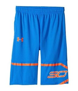 Under Armour Kids  Boys Steph Curry 30 Spear Shorts (Big Kids) Youth Large