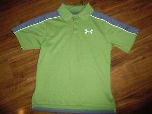 BOYS UNDER ARMOUR POLO SHIRT - GREAT FOR GOLF - SIZE YOUTH SMALL