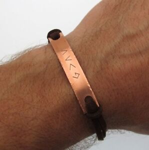 Mens Personalized Bracelet - God is Greater Bracelet - Christian Jewelry Gift