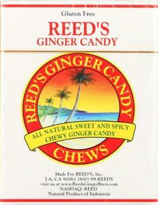 REED#x27;S GINGER BEER REED�S GINGER CHEWS GINGER Pack of 20 2 OZ
