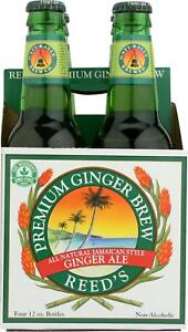 REED#x27;S GINGER BEER REED�S GINGER BREW PREMIUM Pack of 6 4 12 FZ