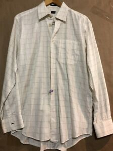 Paul Smith Ivory Formal Dress Shirt Size 15