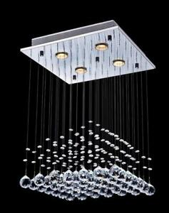 Luxury crystal lamp chandelier modern & contemporary ceiling pendant light