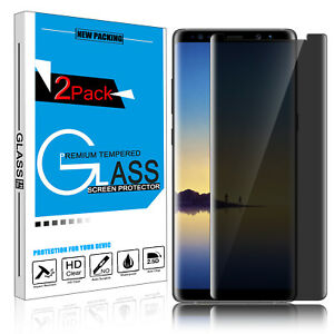 9H Privacy Anti-Spy Tempered Glass Screen Protector for Samsung Galaxy Note 8 9