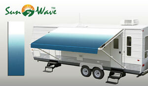 RV Camping Trailer Camper Awning Replacement Fabric Canopy Sun Shade Shelter 21'