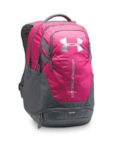 Under Armour Boys' Hustle 3.0 Backpack Book bag For School Sports Travel