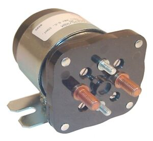 Solenoid 48V 4 Terminal Silver EZGO Electric
