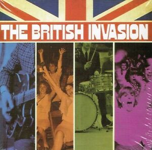 The British Invasion 8 CD+1 DVD Time Life Box Set New & Sealed US MadeShipped