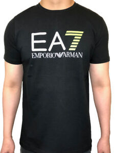EA7 Emporio Armani Stretch Jersey Cotton T-shirt 100% Authentic