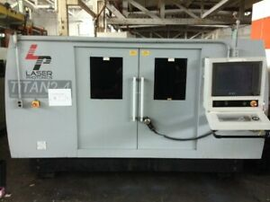 Laser Photonics Titan 2X4 with IPG YLS-3000 Fiber Laser Bed Cutter CNC 3Kw Works