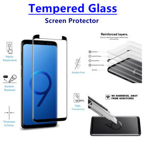 Lot Tempered Glass Screen Protector For Samsung Galaxy Note 9 Anti-Scratch