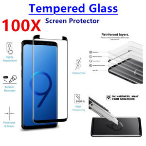 100X 9H Tempered Glass Screen Protector For Samsung Galaxy Note 9 Anti-Scratch