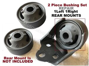 8L5052 2pcBushings fit Rear Left Right Motor Mounts 1995 2002 Volkwagen Cabrio $58.00