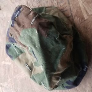 Woodland and desert Camo Military Helmet Cover  Combat Tactical  LOT OF 2