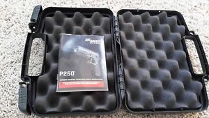 Sig Sauer P250 Owners Manual and Factory Case