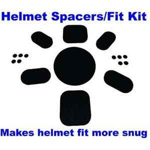 Aftermarket Upgrade Fit Kit Universal Pads For Army Ach Mich Helmet With Sticky