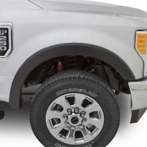 Bushwacker OE Style Ingot Silver Front and Rear Fender For 17-18 Ford F-250