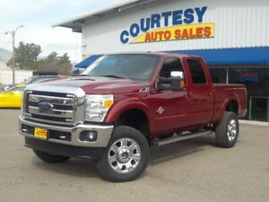 2014 F-250 Lariat Crew Cab Short Bed 4WD 2014 Ford F-250 SD Lariat Crew Cab Short Bed 4WD  6.7L V8 OHV 16V DIESEL Automat