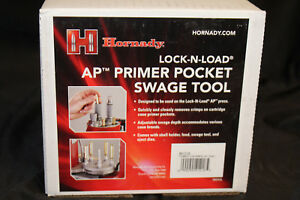 Hornady LNL AP Primer Pocket Swage Tool 7.62X51308 Only small 041218