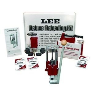 Lee Precision Deluxe 4 Hole Turret Press Kit