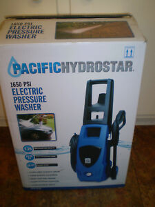 Pacific Hydrostar 1650 psi electric pressure washer-used one time-Local Pickup