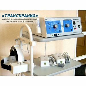 TRANSKRANIO The device is designed for non-drug therapy in adults associated wit