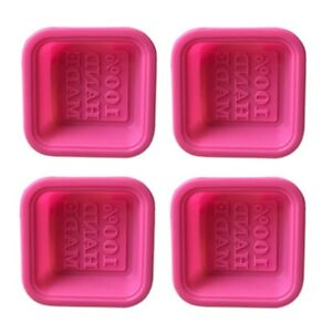 16pcs Soap Molds Square Round Clover Baking Mold Handmade Mold for Gift Home DIY