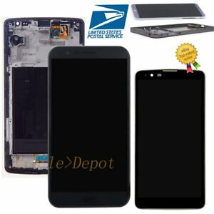AA For LG Stylo 2 3 Plus Complete LCD Digitizer Touch Screen Replacement+Frame