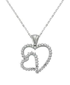 Heart of Turkish Handmade Silver Heart Necklace Pendant For Women Jewelry