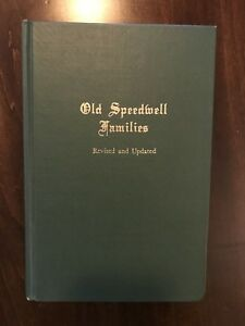 Old Speedwell Families