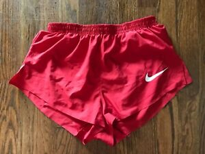 Nike Elite Sponsored Pro Running Shorts - Made in USA Men's Small