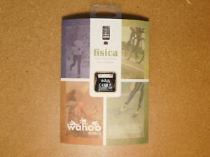 FACTORY SEALED! - Wahoo Fitness ANT + ENABLED Fisica Sensor Key for iPhone iPod