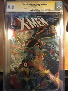 MARVEL COLLECTIBLE CLASSICS  X-MEN   #2 CGC 9.8  Signed By Stan Lee And Len Wein