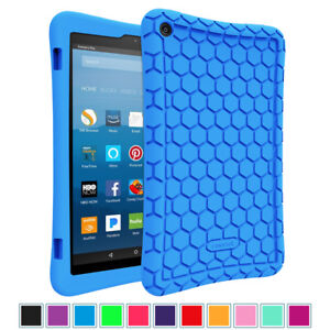 For New Amazon Fire HD 8 8 inch 8th Generation 2018 Tablet Silicone Case Cover