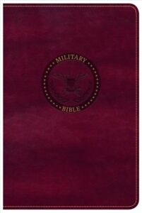 Holy Bible : Christian Standard Bible Burgundy Leathertouch Military Bible...