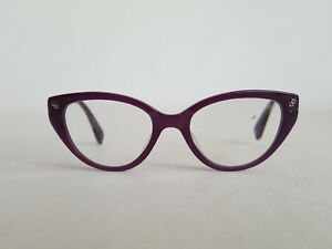 Tony Morgan Purple Designer Glasses Frames Cat eye with Sparkles Womens