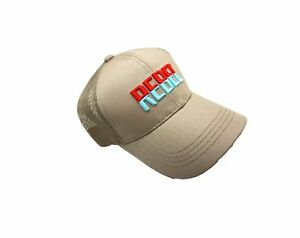 Rebel Lure Fishing Trucker Tan Hat Cap