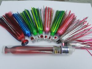Eye Catcher and Hatteras Lures Offshore Trolling Lure Assortment - (10) Lures