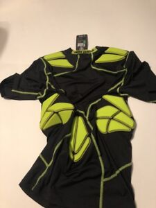 Under Armour Heat Gear MPZ Stealth 5Pad Football Compression Shirt Mens Large