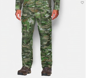 NEW Storm Softershell Hunting Pants 1259186 943 Camo Print Medium Under armour